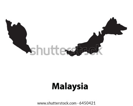Vector of Malaysia