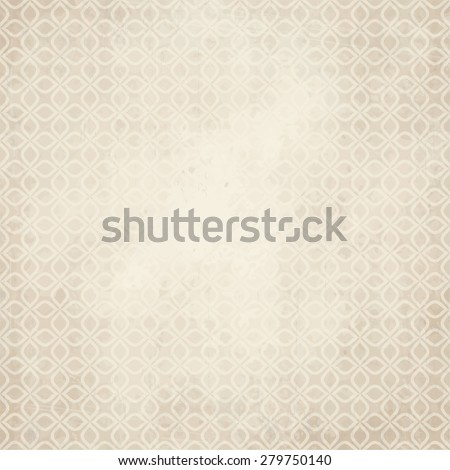 vector of old vintage paper background with abstract pattern - stock vector