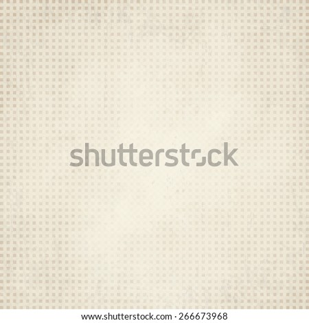 vector of old vintage paper background with checkered pattern - stock vector