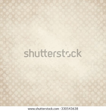 vector of old vintage paper background with points - stock vector