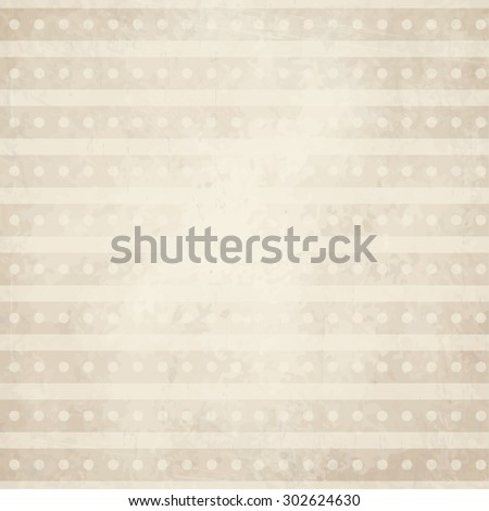 vector of old vintage paper background with points and lines - stock vector