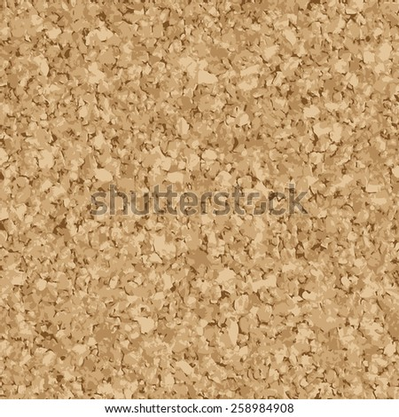 vector of seamless cork background for office - stock vector