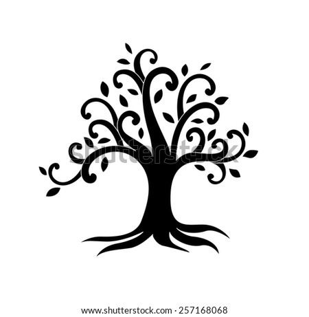Vector of Tree of life for background