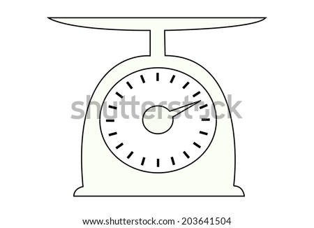 Vector of Weighing scales