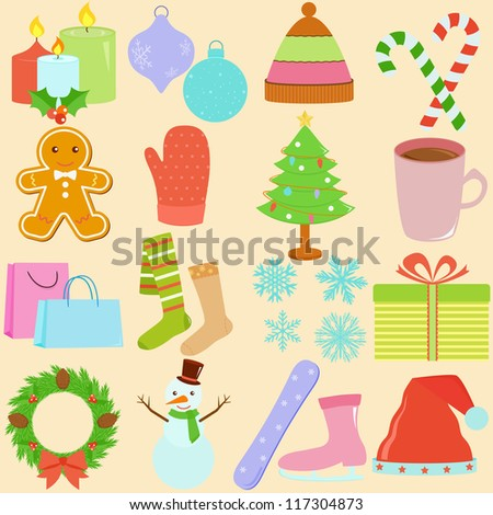 Winter Clip Art Stock Images Royalty Free Images