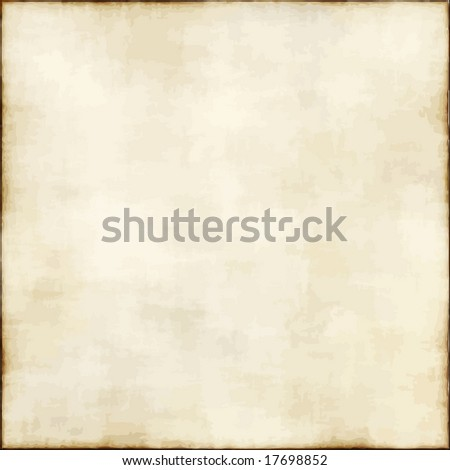 Vector Old Light Paper, See Jpeg Also In My Portfolio - stock vector