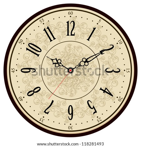 Vintage Clock Stock Images Royalty Free Images Vectors