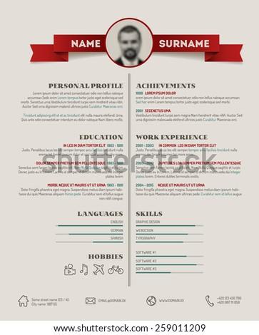 original resume