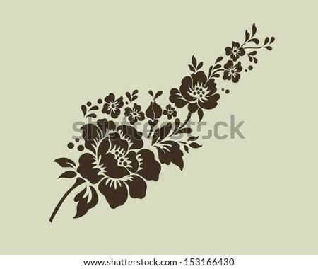 Vector ornamental Decorative elements design - stock vector