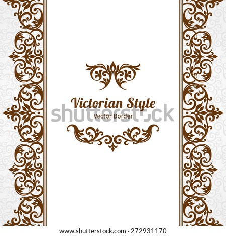 Victorian Border Stock Images, Royalty-Free Images ...