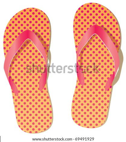 vector pair of flip flops
