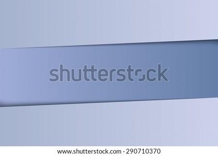 Vector paper banners design. - stock vector