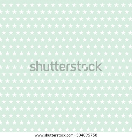vector pastel color pattern with star shape - stock vector