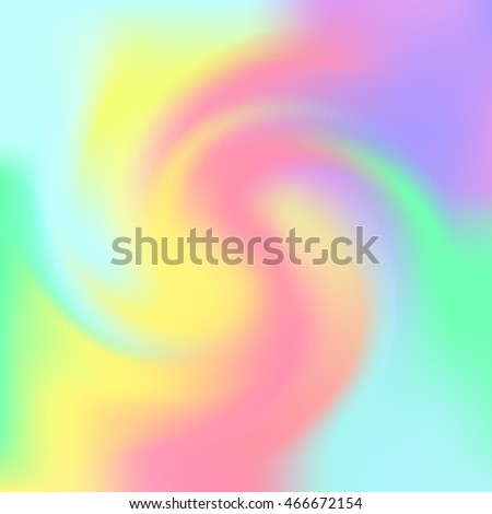 Vector pastel soft gradient swirl background template
