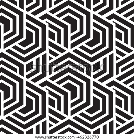 Vector pattern. Geometric background