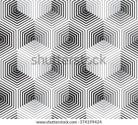 Vector pattern. Geometric color background - stock vector