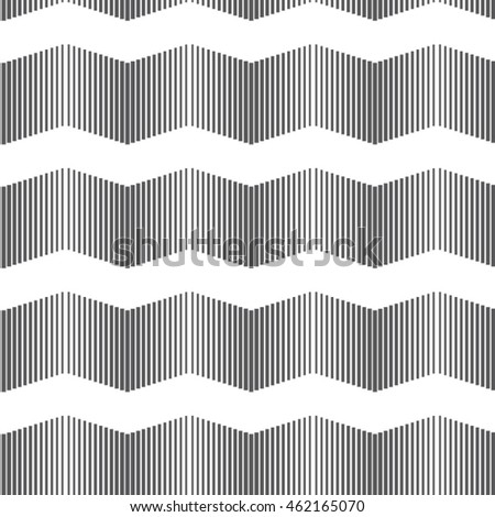Vector pattern. Geometric grey wavy background