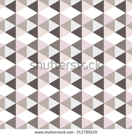 Vector pattern of geometric shapes. Seamless pattern. Colorful-mosaic-banner. Geometric hipster retro background with place for your text. Retro triangle background - stock vector