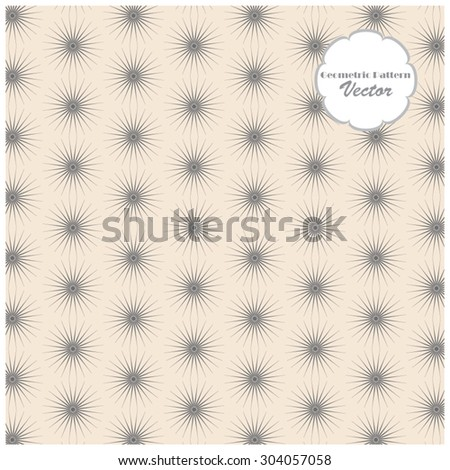 Vector pattern. Repeating geometric background - stock vector