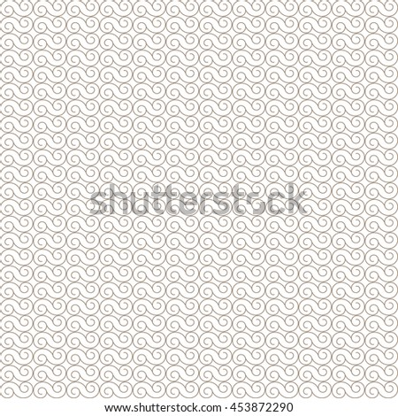 Vector pattern with art ornament. Elements for design . Ornamental lace tracery background .Beige  white. - stock vector