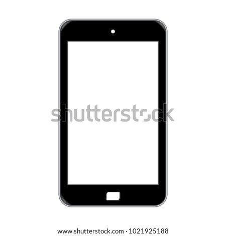 Vector Phone isolated on a white background.