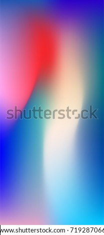 Vector Phone X Wallpaper Modern Abstract Background