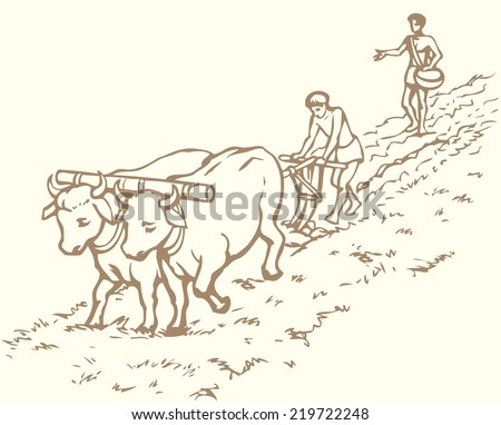 Indian Farmers Drawing | www.pixshark.com - Images ...