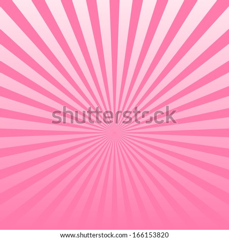 Vector pink striped background - stock vector