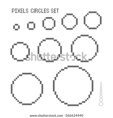 Search on circle and square pattern