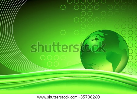 vector planet abstract background