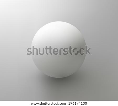 vector plastic ball (element for design) - stock vector