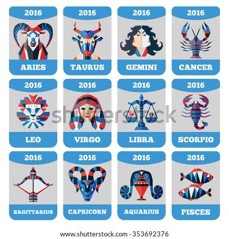 Zodiac Calendar Template. Wall-Calendar-Design-Template-2017-1