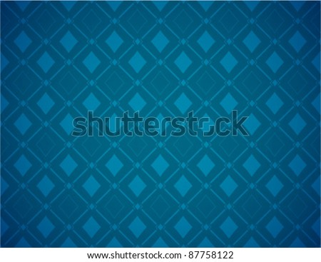 Vector Poker Background - stock vector