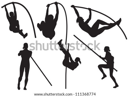 vector pole vaulting
