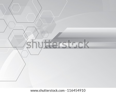 Vector polygonal  abstract background