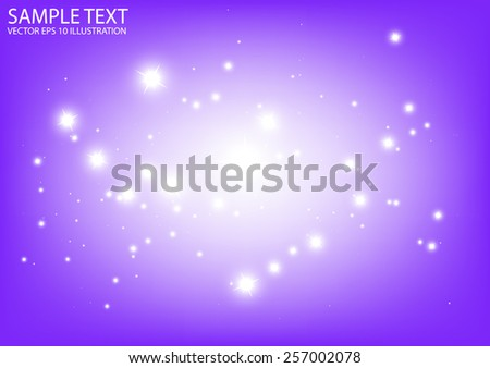 Vector purple sparkling  background illustration - Vector abstract purple sparkle background - stock vector