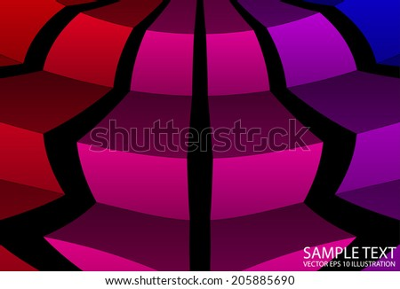 Vector rainbow checkered background illustration - Abstract vector squared rainbow color template - stock vector
