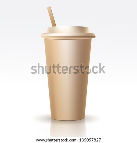 Vector Realistic Cup