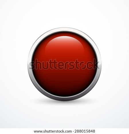 Vector red button