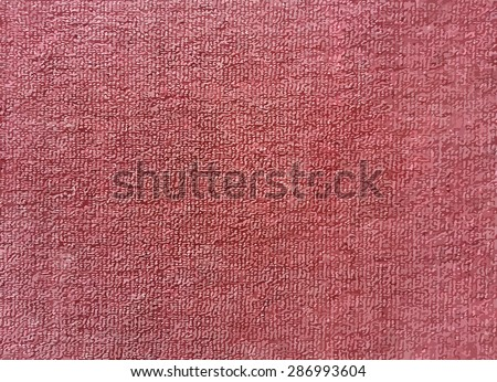 Vector, red carpet texture for background - stock vector