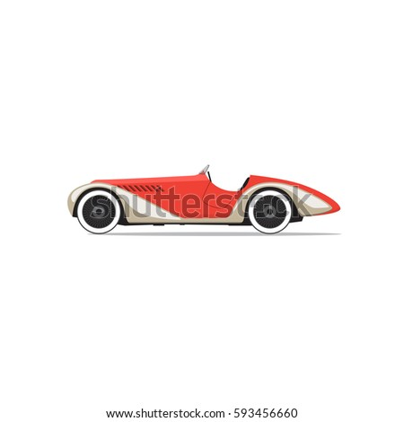 Race Car Symbol Stock Illustration Shutterstock