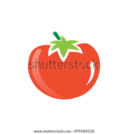 Vector Red Tomatoes Icon