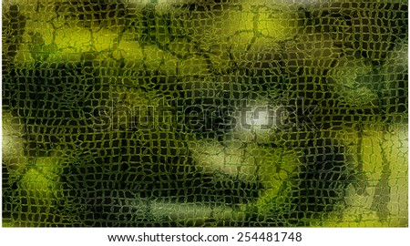 vector reptile skin pattern texture - stock vector