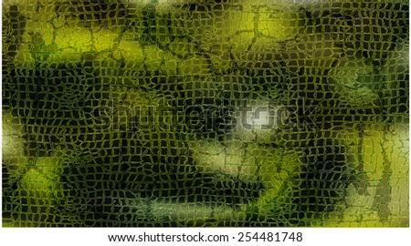 vector reptile skin pattern texture - stock vector