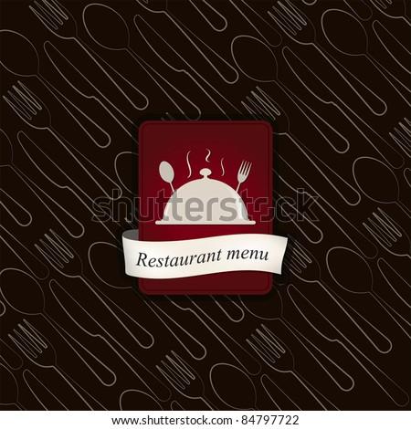 Vector. Restaurant menu design - stock vector