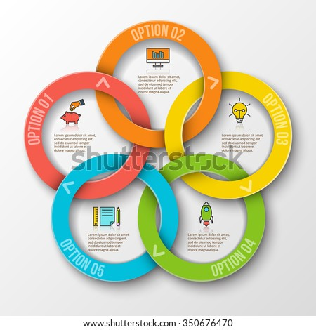 Diagram of rings explore schematic wiring diagram vector rings infographic template cycle diagram stock photo photo rh shutterstock com diagram of rings diagram of rings ccuart Gallery