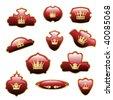 Vector royal labels - stock vector