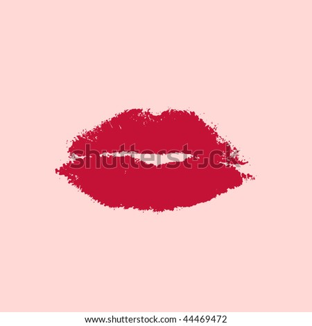 vector ruby lips