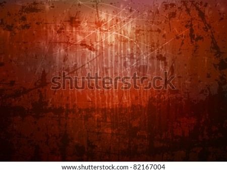 vector rusty texture - stock vector