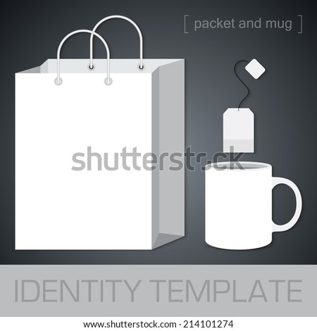 Vector. Samples for corporate identity design. For graphic designers, presentations and portfolios. - stock vector